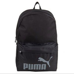 Puma backpack black w/ laptop sleeve
